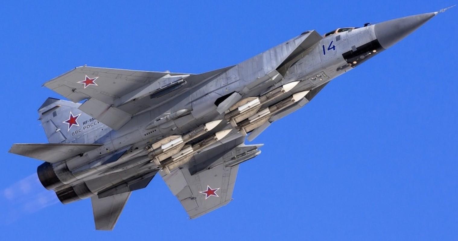 Bi mat dang sau viec Nga trang bi cho MiG-31 ten lua tam ngan