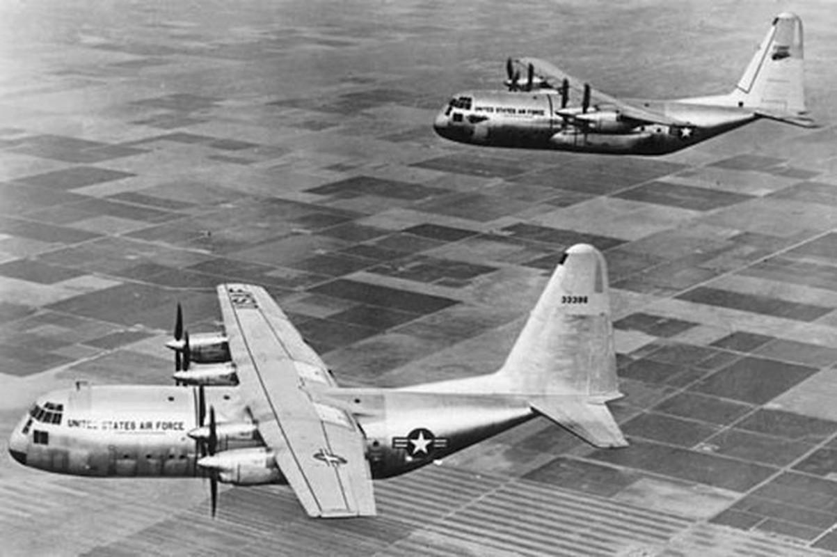 Anh huyen thoai van tai co C-130: 60 nam ben bi