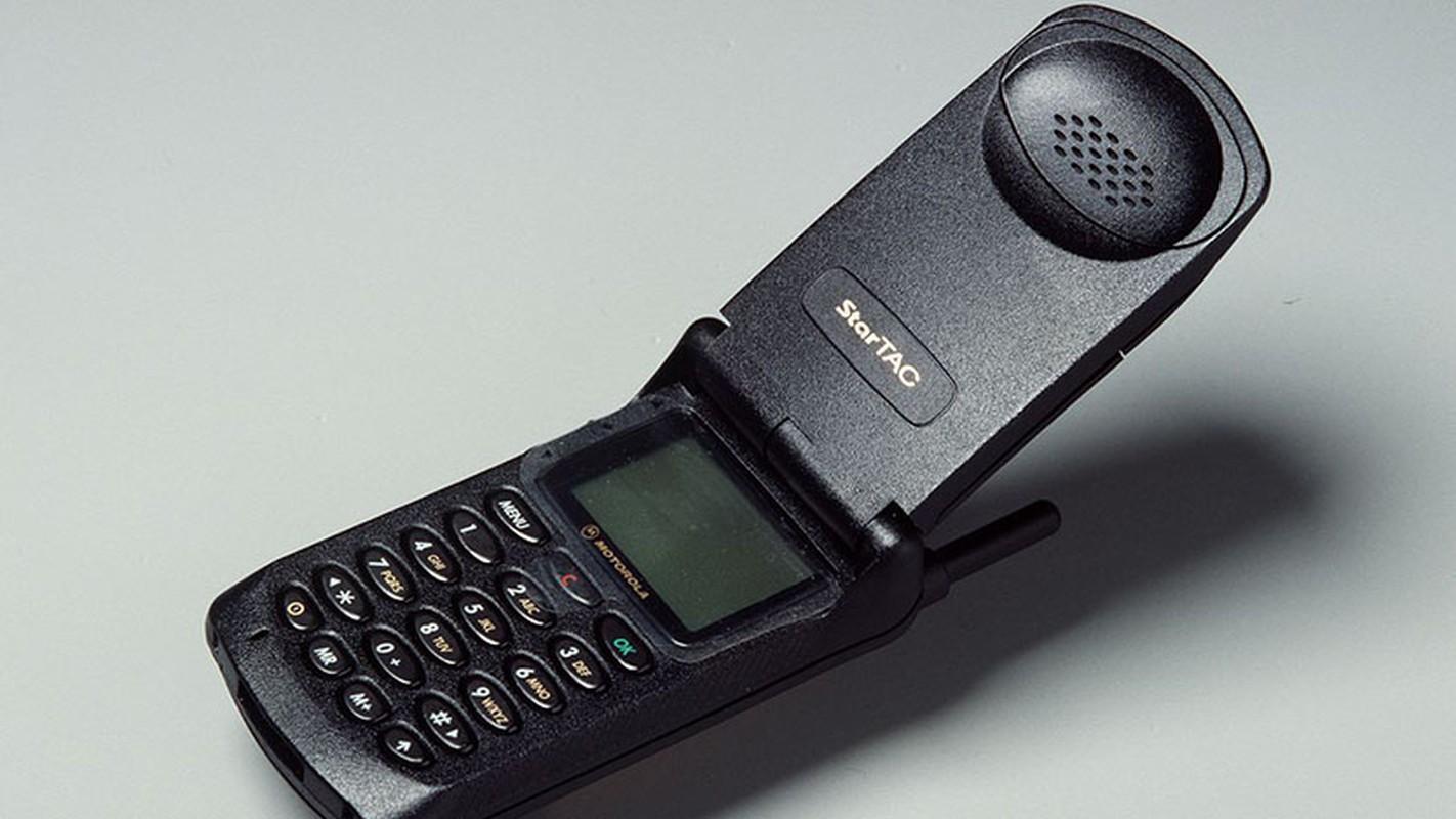 """Nhin lai nhung chiec dien thoai Motorola """"lung lay mot thoi"""""""