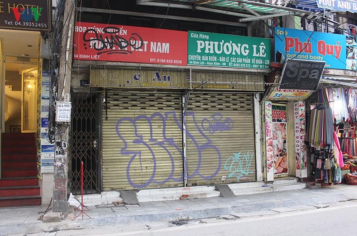"Pho co Ha Noi ""xau xi"" vi nhung hinh ve Graffiti-Hinh-10"
