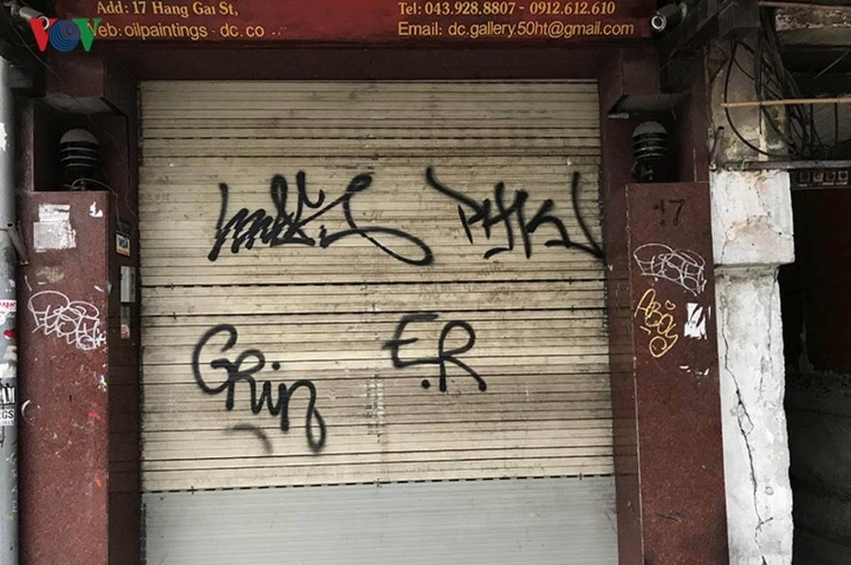 "Pho co Ha Noi ""xau xi"" vi nhung hinh ve Graffiti-Hinh-3"