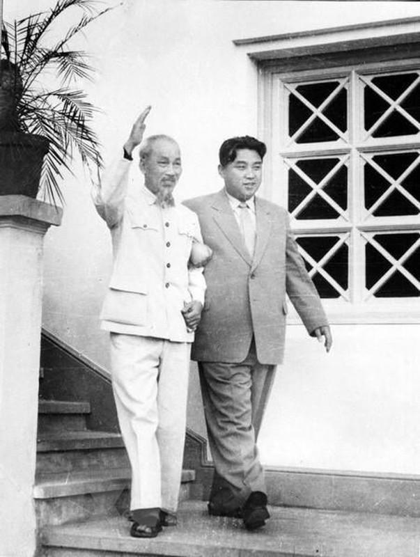 Hinh anh Thu tuong Kim Nhat Thanh tham huu nghi Viet Nam nam 1958-Hinh-5