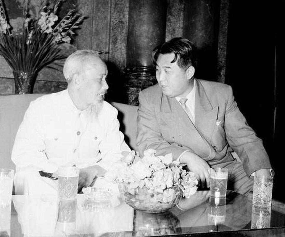 Hinh anh Thu tuong Kim Nhat Thanh tham huu nghi Viet Nam nam 1958
