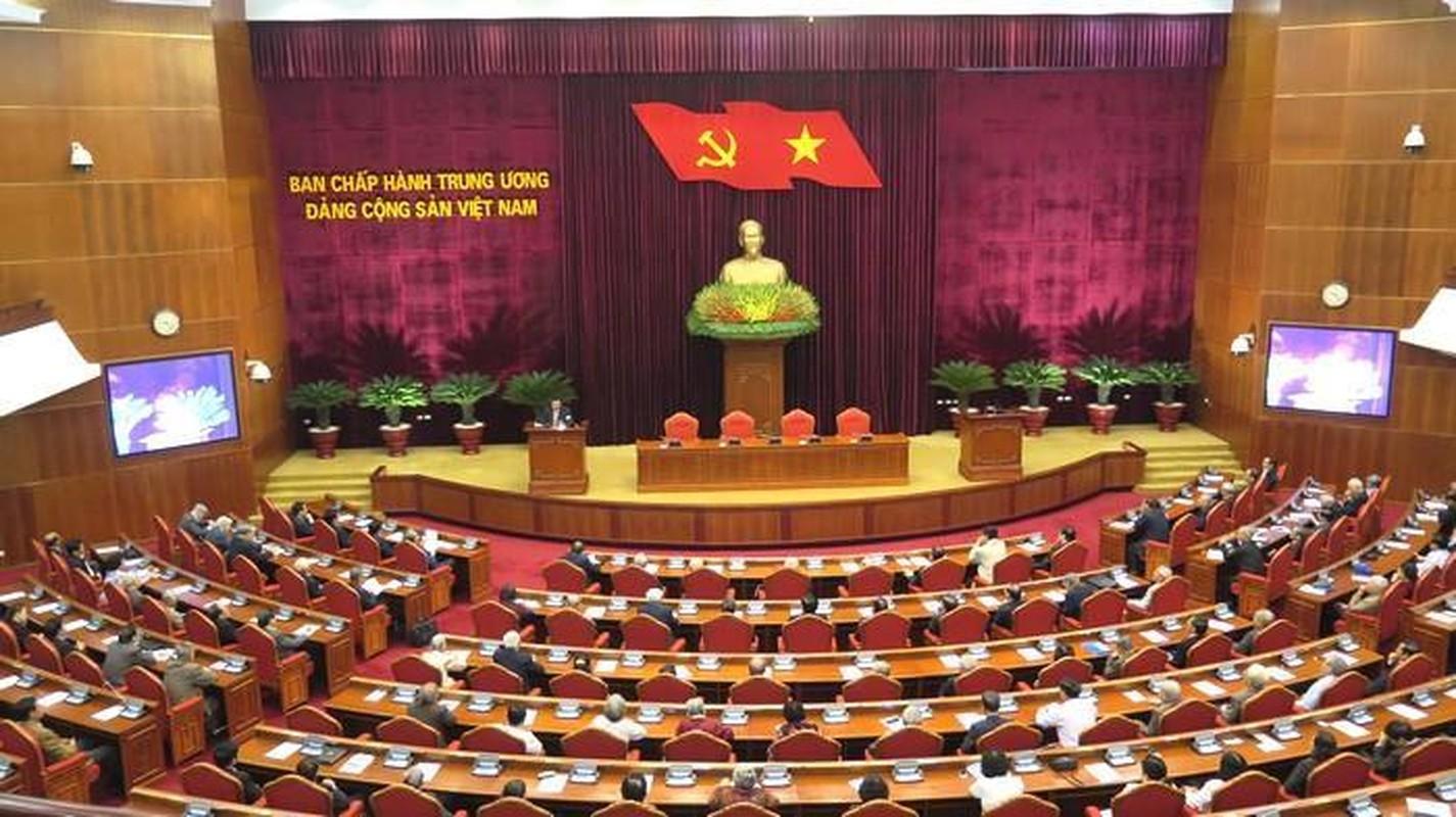 Hinh anh Tong bi thu, Chu tich nuoc gap mat can bo lanh dao nghi huu-Hinh-7