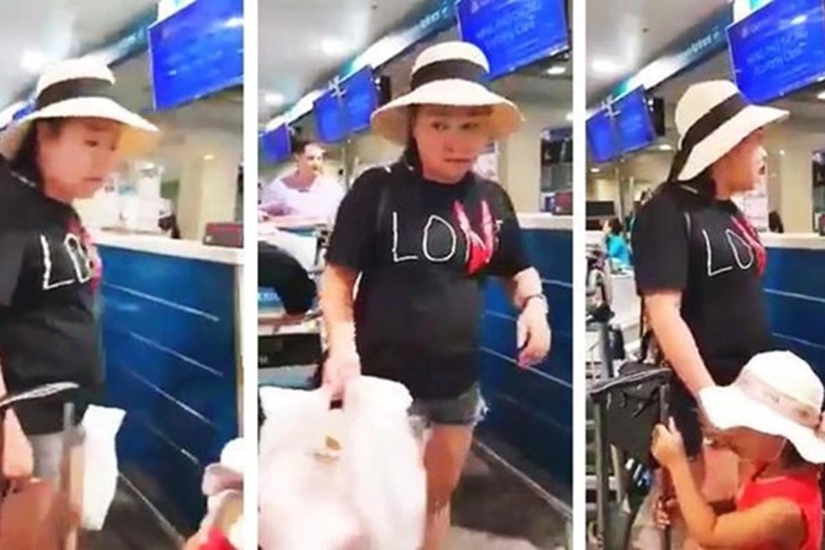 Nu khach hang nao loan san bay Tan Son Nhat: Co gai dang clip noi gi?-Hinh-7
