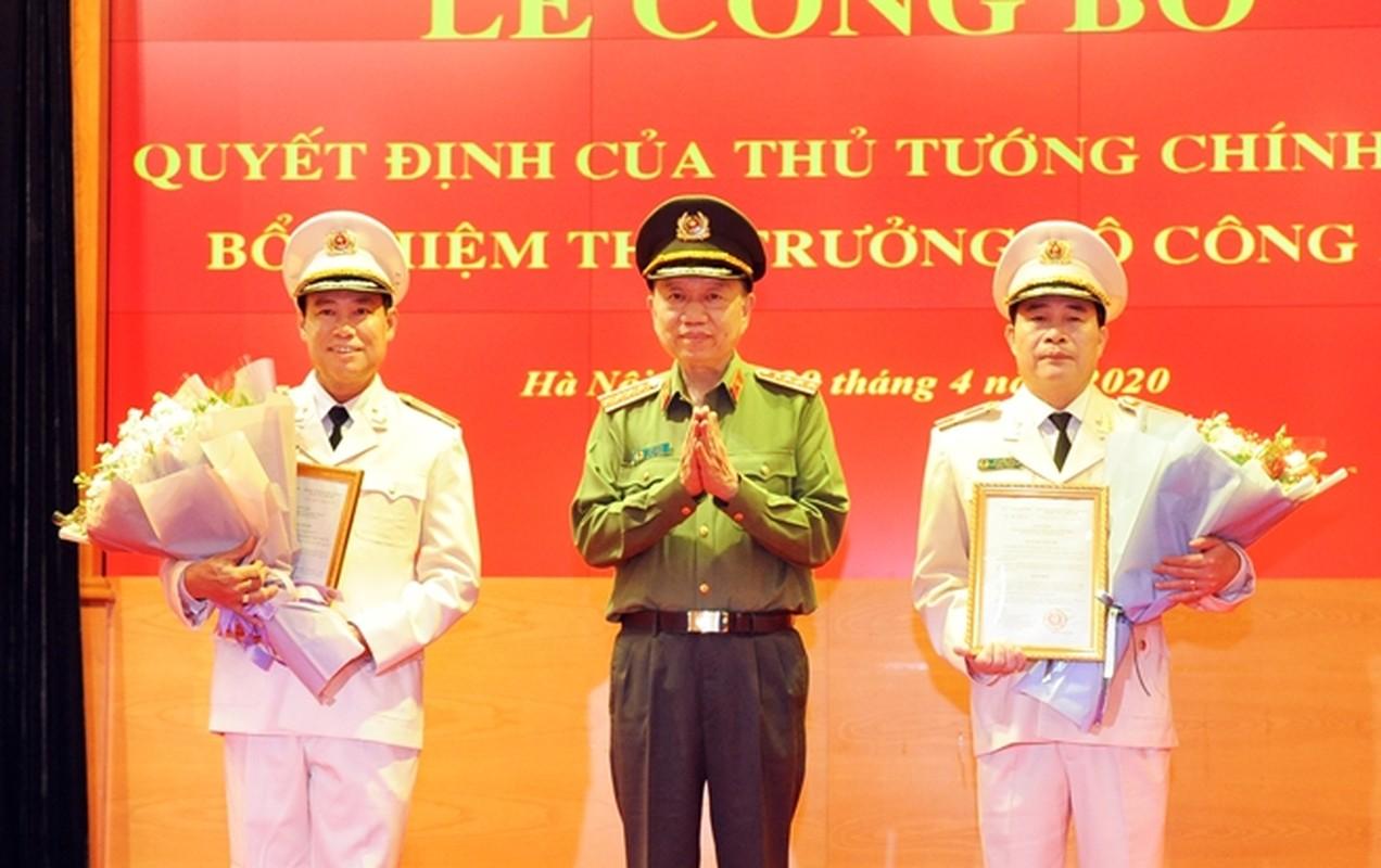 Chan dung 2 thieu tuong tan Thu truong Bo Cong an