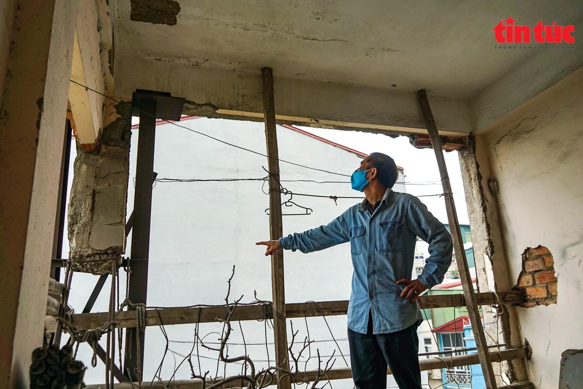 Ha Noi: Can canh cac khu tap the phai di dan khan cap trong mua mua bao-Hinh-9