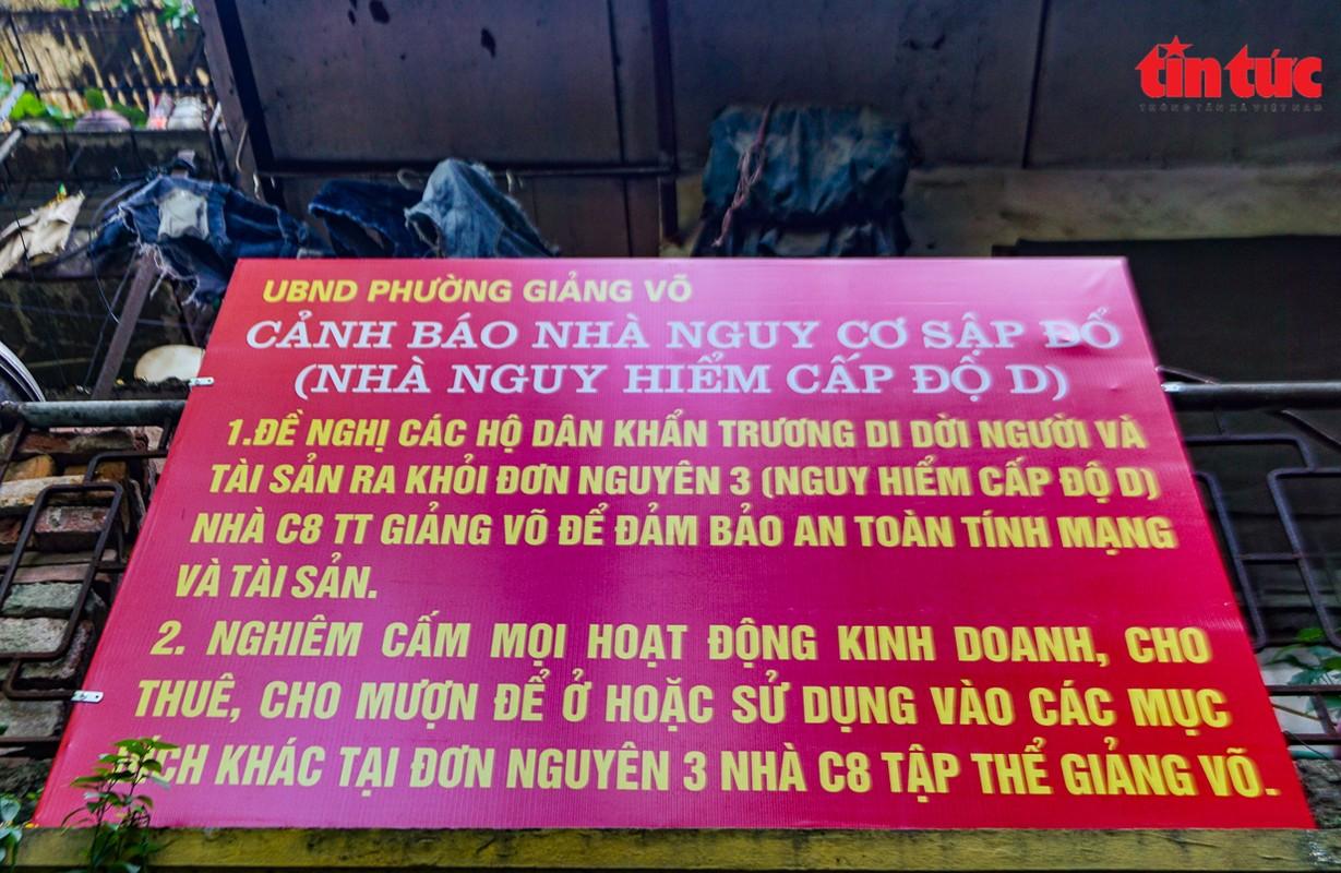Ha Noi: Can canh cac khu tap the phai di dan khan cap trong mua mua bao