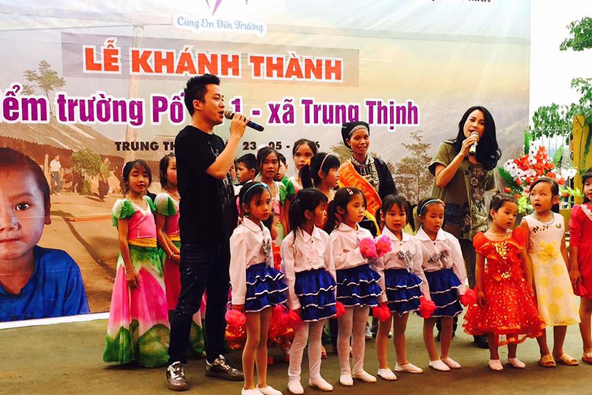 Tung Duong Thanh Lam len vung cao lam tu thien