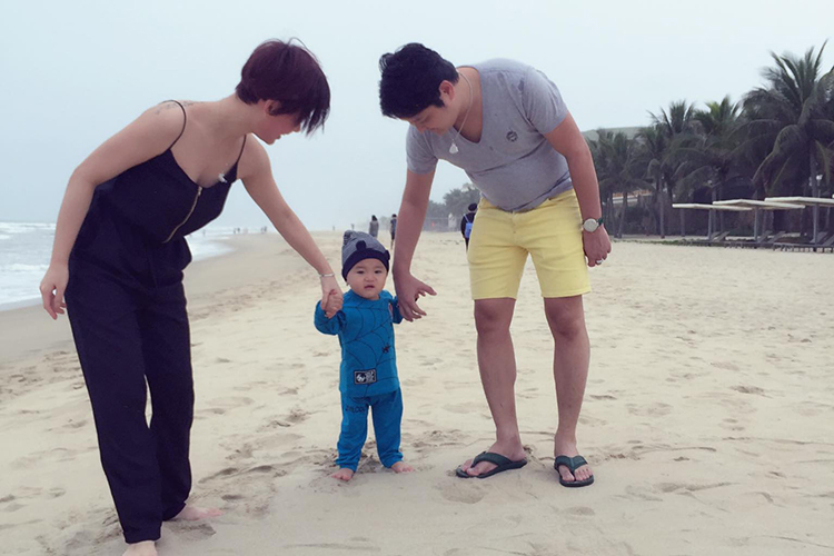 To am hanh phuc cua Tra My Idol ben chong dai gia-Hinh-4