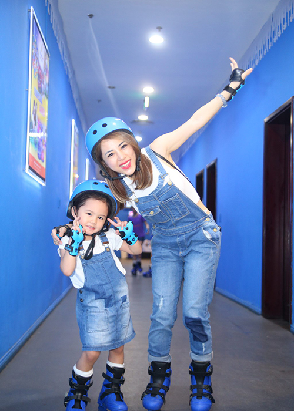Con gai Thanh Lam dien vien Thuy Anh hao huc truot bang-Hinh-13