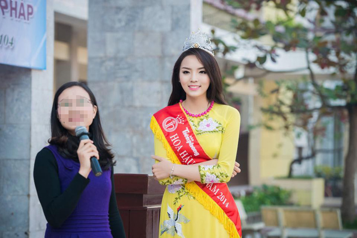 Cuoc song sang chanh cua HH Ky Duyen sau dang quang