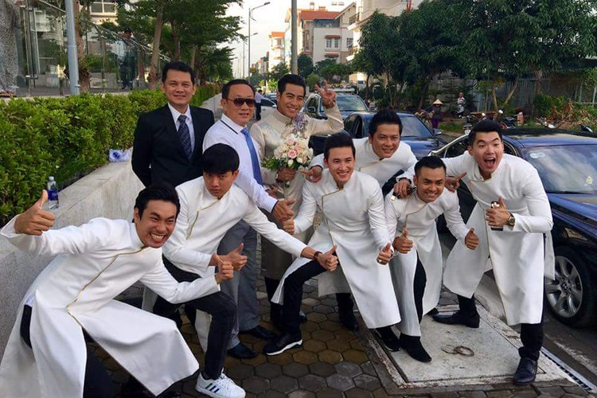 Cap doi Ngoc Lan Thanh Binh tuoi roi trong dam hoi-Hinh-7