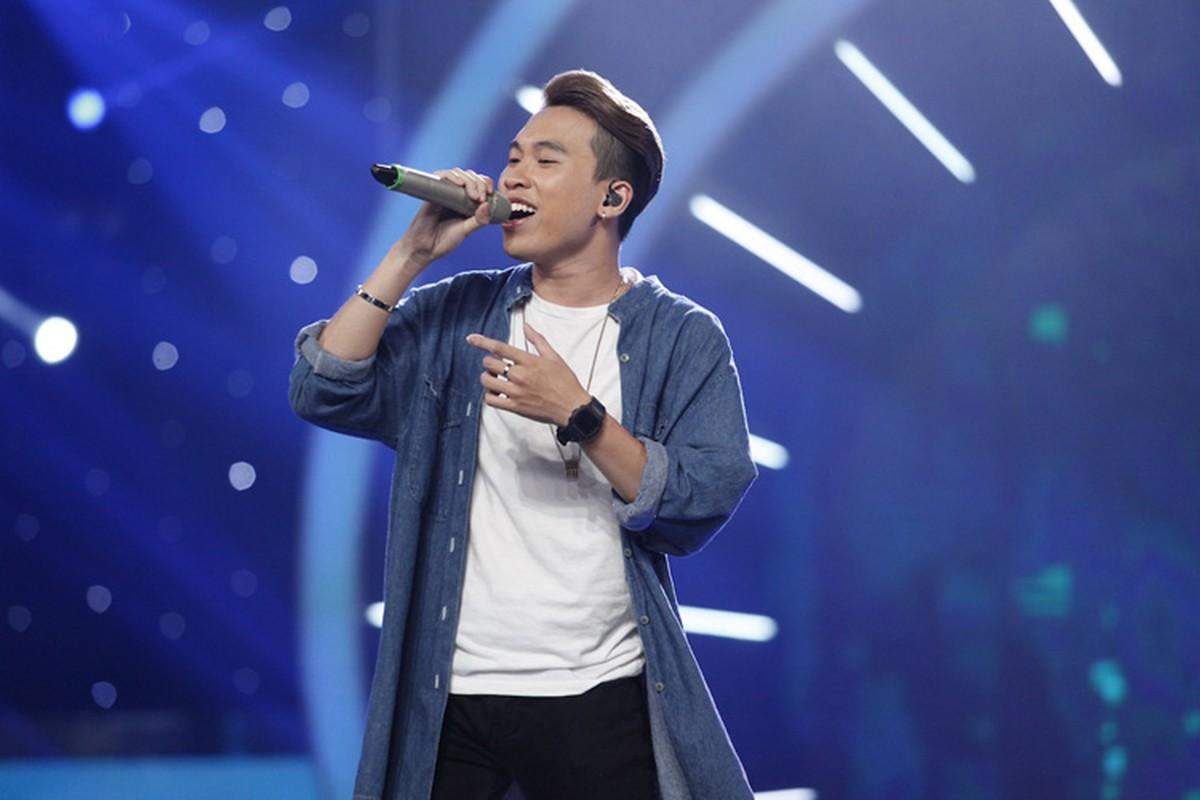 Thu Minh than thiet voi Bang Kieu o hau truong Vietnam Idol-Hinh-10