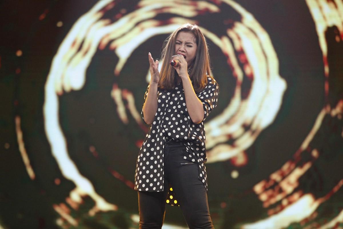 Thu Minh than thiet voi Bang Kieu o hau truong Vietnam Idol-Hinh-12