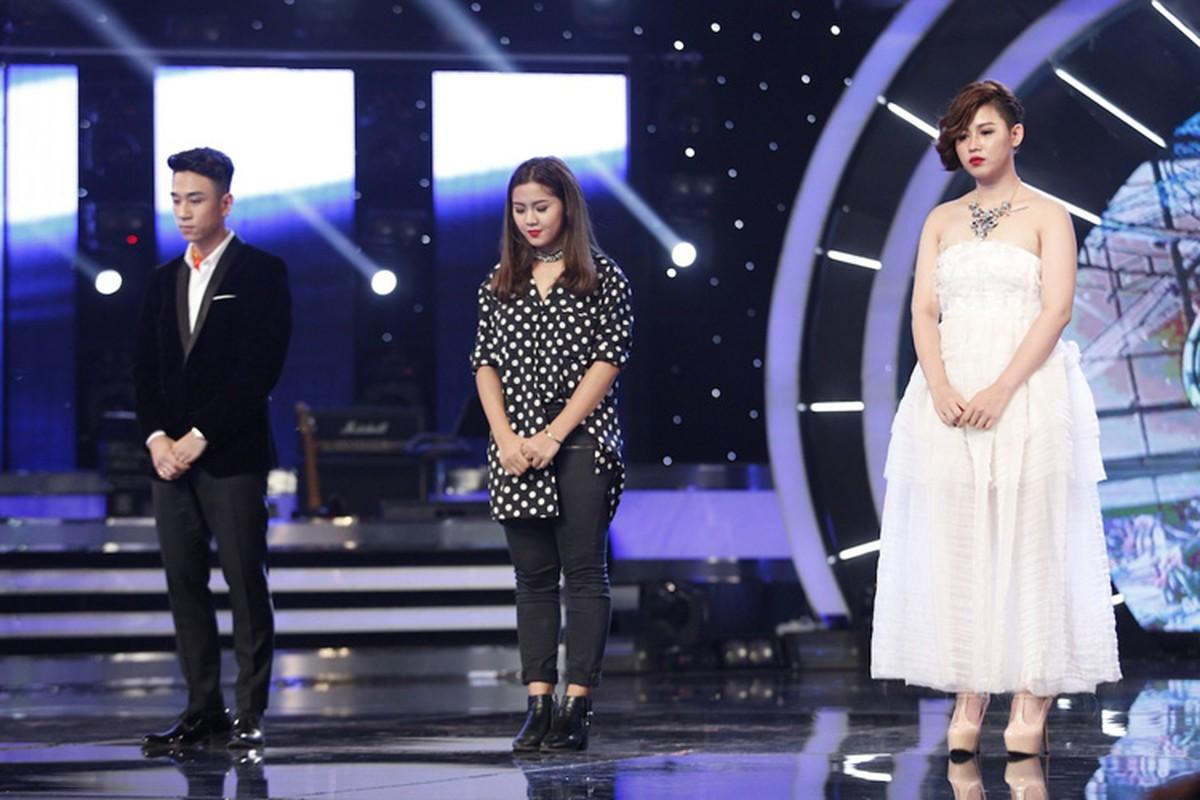 Thu Minh than thiet voi Bang Kieu o hau truong Vietnam Idol-Hinh-14