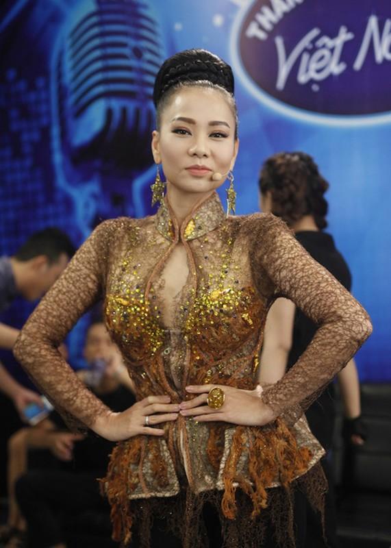 Thu Minh than thiet voi Bang Kieu o hau truong Vietnam Idol-Hinh-3
