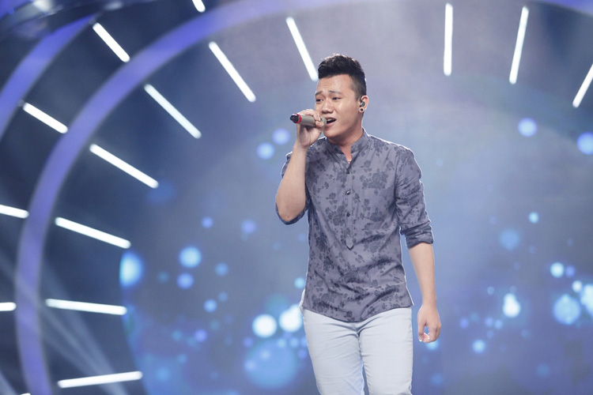 Thu Minh than thiet voi Bang Kieu o hau truong Vietnam Idol-Hinh-6