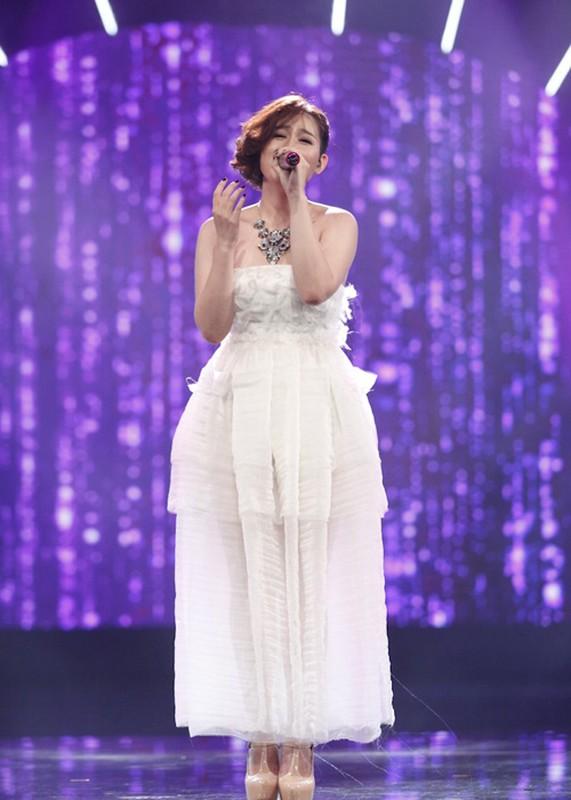 Thu Minh than thiet voi Bang Kieu o hau truong Vietnam Idol-Hinh-7