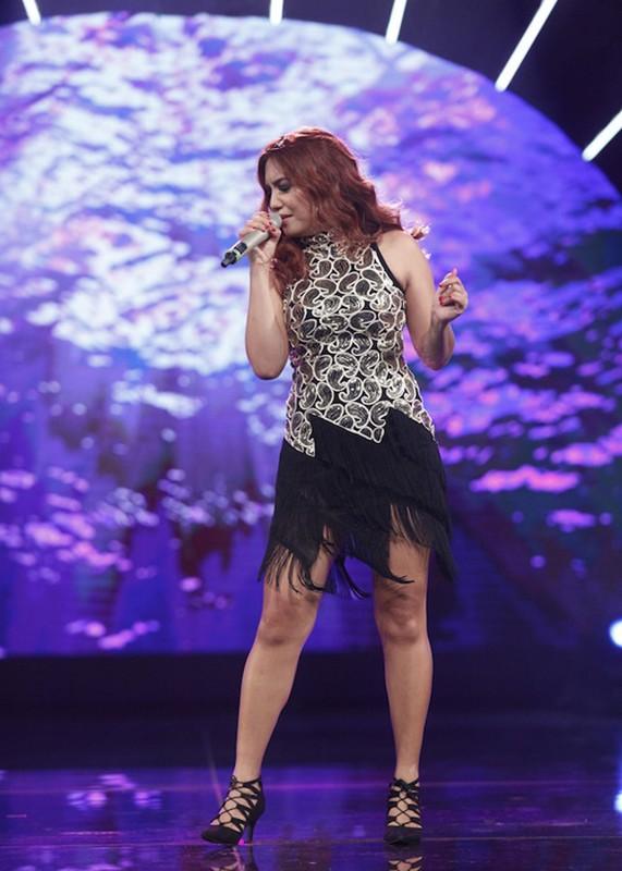 Thu Minh than thiet voi Bang Kieu o hau truong Vietnam Idol-Hinh-9
