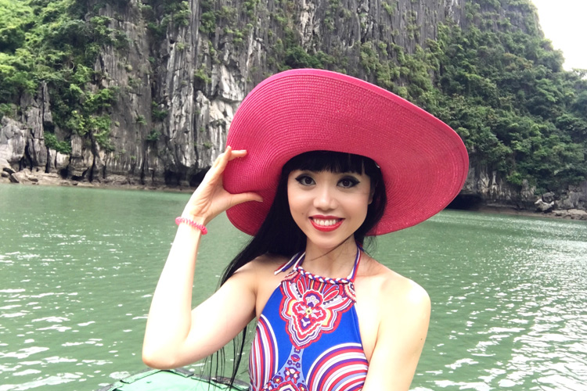 Sieu mau Jessica Minh Anh thich thu kham pha vinh Ha Long-Hinh-3