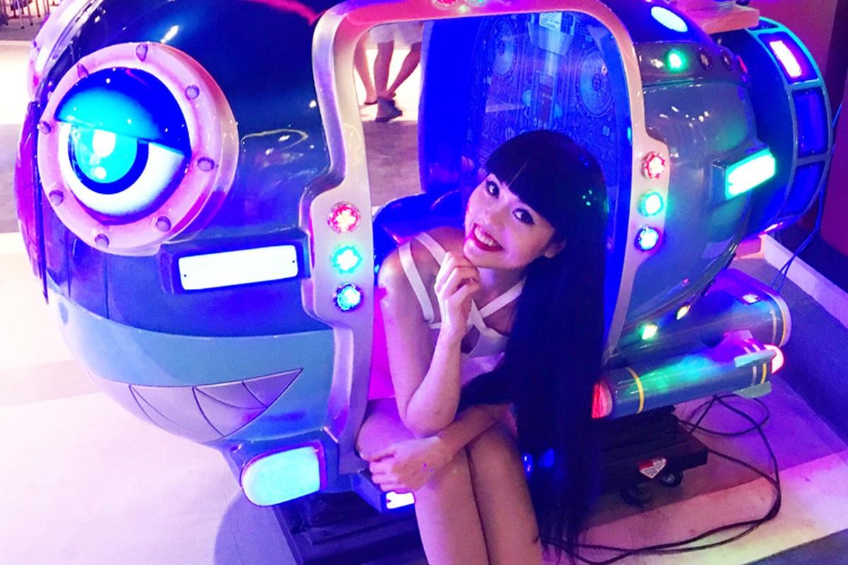 Sieu mau Jessica Minh Anh thich thu kham pha vinh Ha Long-Hinh-8