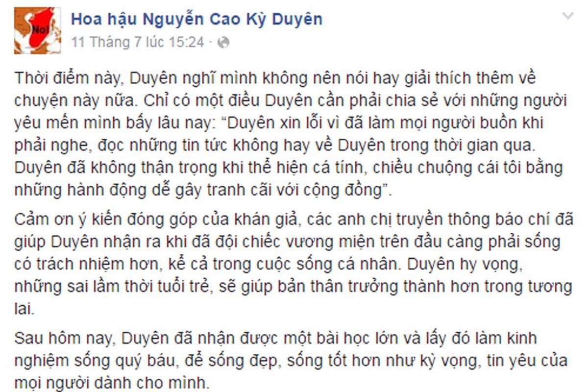 Loat status day tam trang cua Ky Duyen sau scandal-Hinh-8
