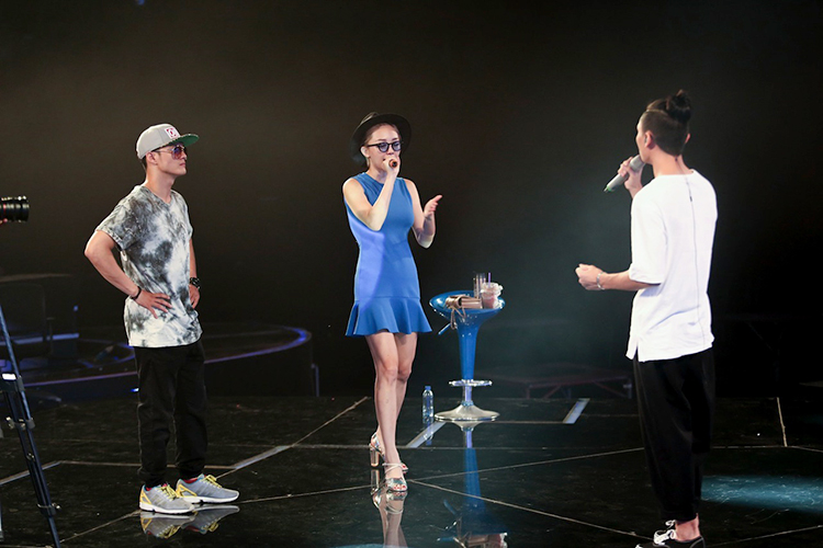 Toc Tien tiep lua cho top 8 Vietnam Idol 2016-Hinh-8