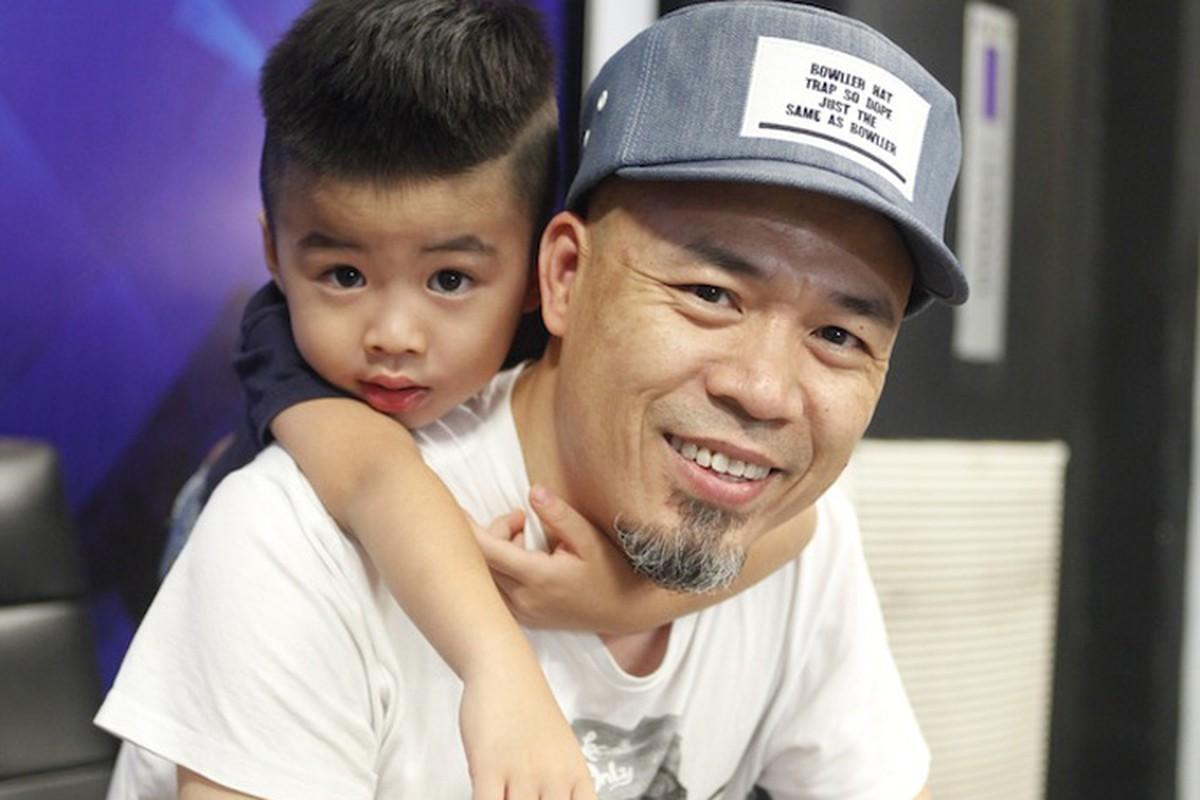 NS Huy Tuan khoe con trai o hau truong Vietnam Idol 2016