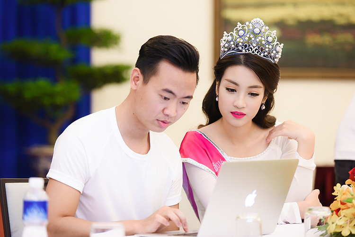 Hoa hau Do My Linh xuat hien rang ro sau dang quang-Hinh-5