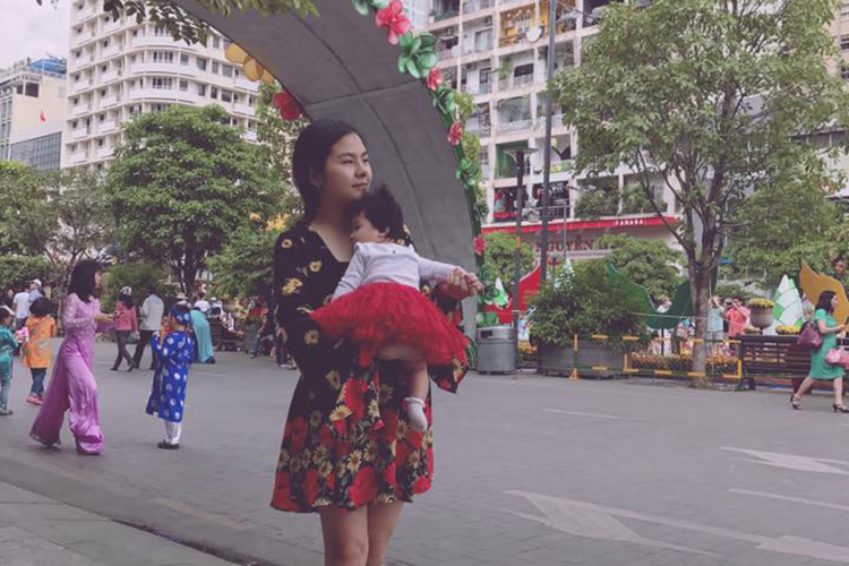 Ve dang yeu nhu thien than cua con gai Van Trang-Hinh-3