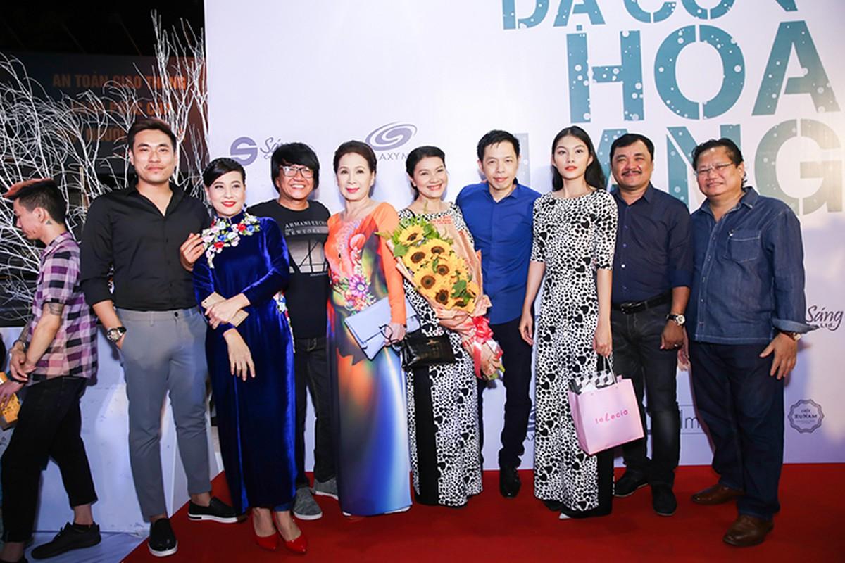 """Dan sao """"khung"""" den mung Hoai Linh Quang Dung ra mat phim moi-Hinh-11"""