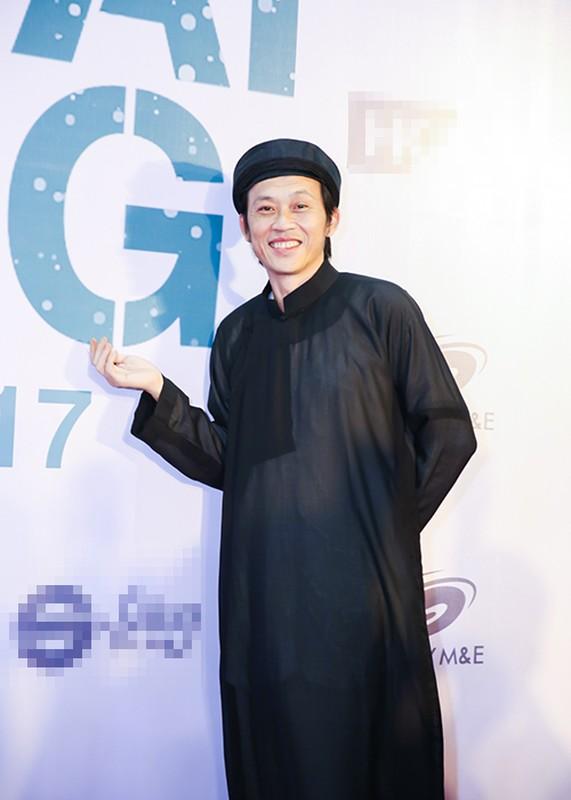 """Dan sao """"khung"""" den mung Hoai Linh Quang Dung ra mat phim moi-Hinh-2"""
