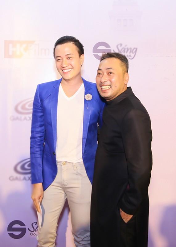 """Dan sao """"khung"""" den mung Hoai Linh Quang Dung ra mat phim moi-Hinh-5"""