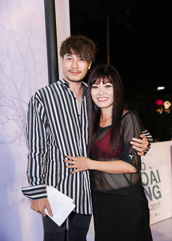 """Dan sao """"khung"""" den mung Hoai Linh Quang Dung ra mat phim moi-Hinh-7"""