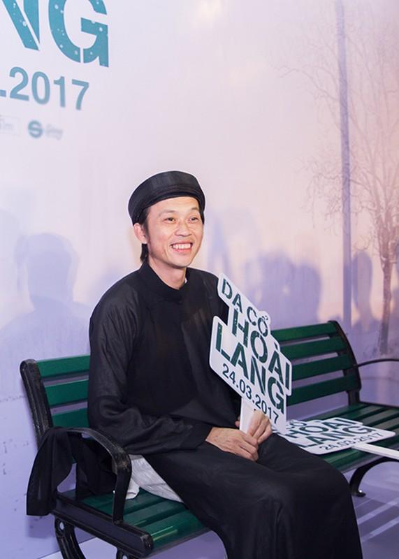 """Dan sao """"khung"""" den mung Hoai Linh Quang Dung ra mat phim moi"""