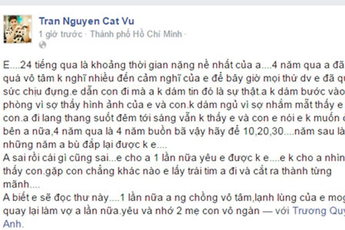 """Chuyen tinh """"hop tan"""" cua Tim - Truong Quynh Anh truoc ly hon-Hinh-5"""