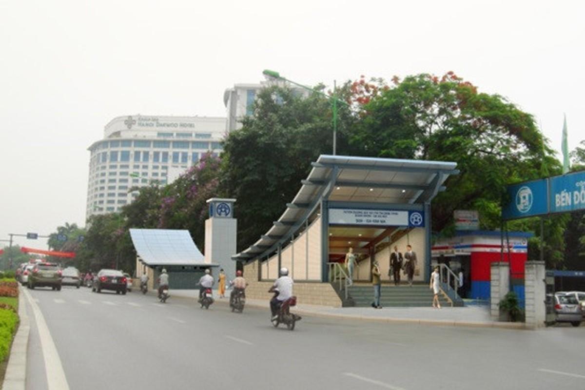 Anh: Phoi canh 12 ga tuyen metro dau tien o Ha Noi-Hinh-10