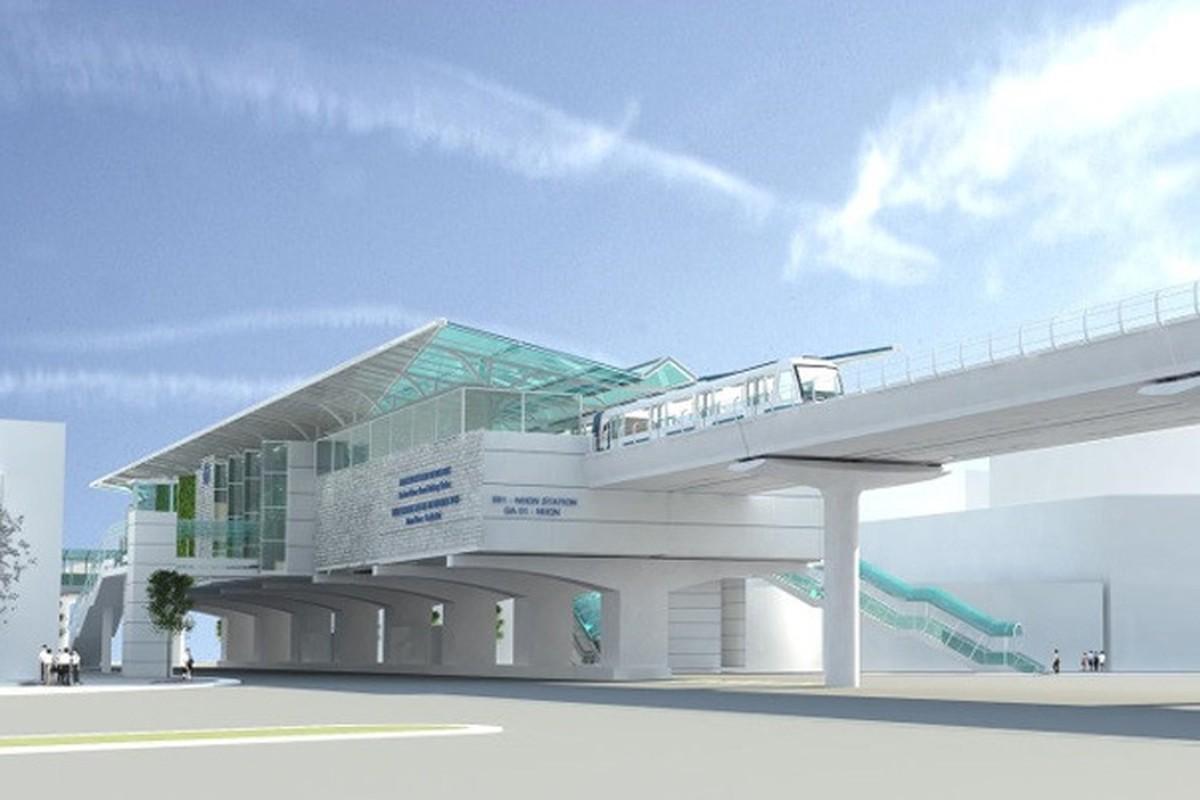 Anh: Phoi canh 12 ga tuyen metro dau tien o Ha Noi-Hinh-3