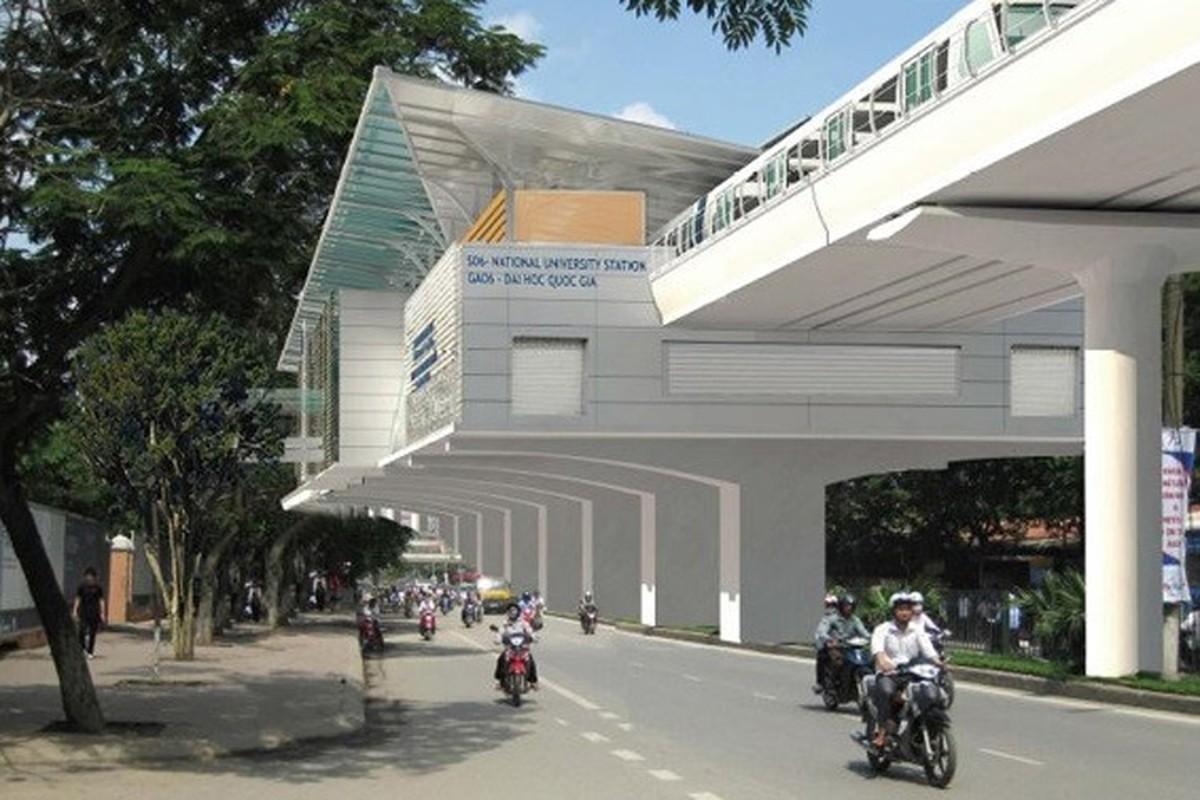 Anh: Phoi canh 12 ga tuyen metro dau tien o Ha Noi-Hinh-7