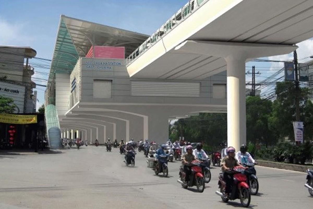 Anh: Phoi canh 12 ga tuyen metro dau tien o Ha Noi-Hinh-8