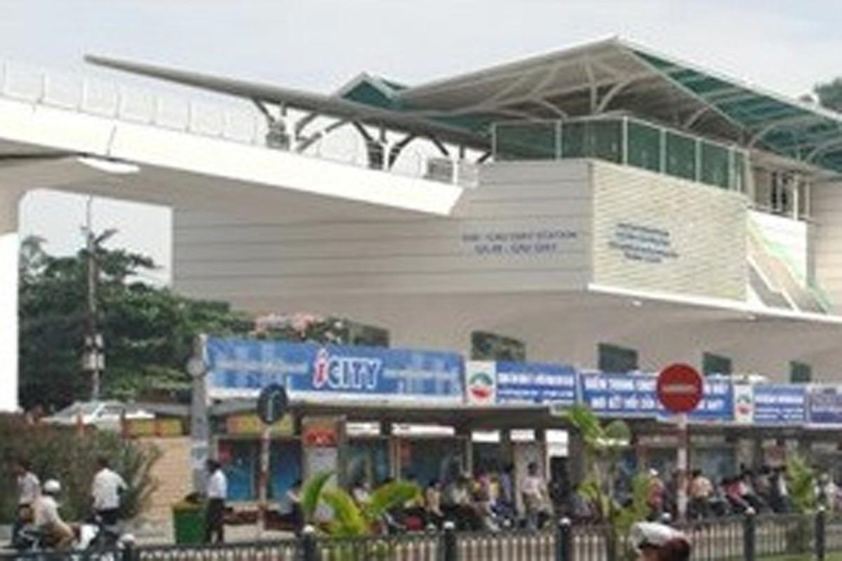 Anh: Phoi canh 12 ga tuyen metro dau tien o Ha Noi-Hinh-9