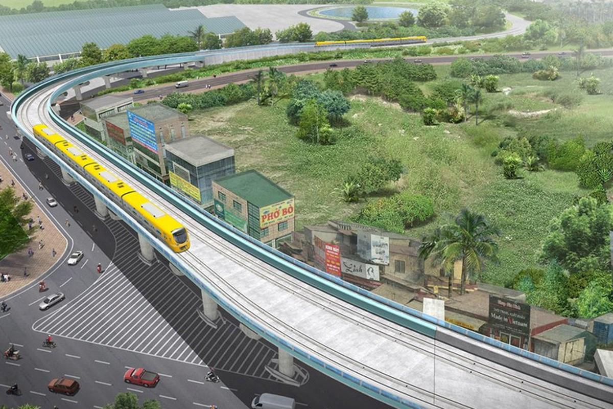Anh: Phoi canh 12 ga tuyen metro dau tien o Ha Noi