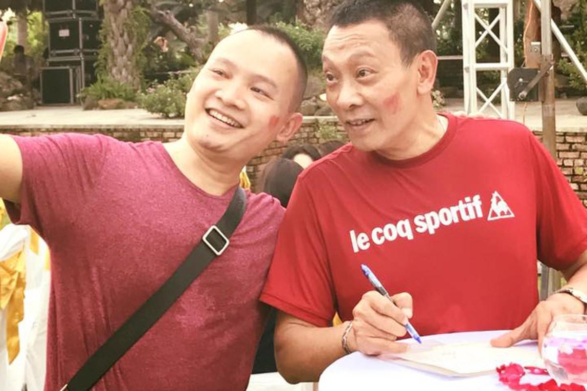 Nha bao Lai Van Sam vui het co tai tiec chia tay VTV-Hinh-2