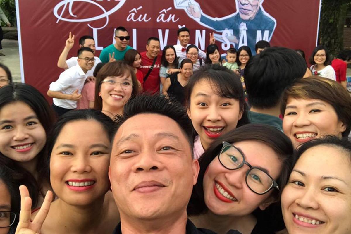 Nha bao Lai Van Sam vui het co tai tiec chia tay VTV-Hinh-8