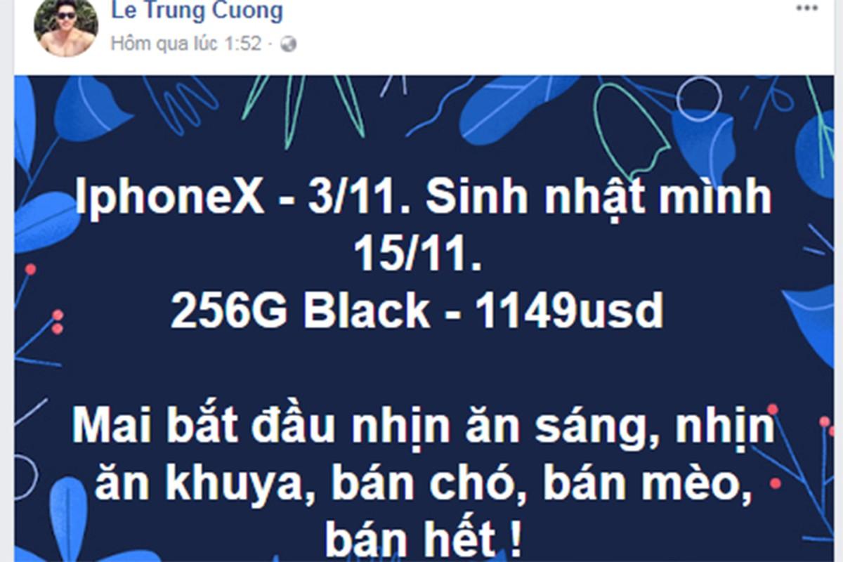 iPhone X vua ra mat da khien sao Viet phat cuong-Hinh-4