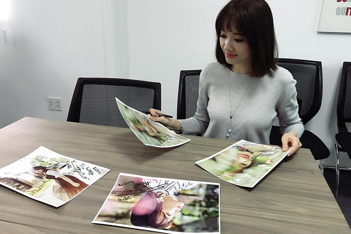Hot Face sao Viet 24h: Hari Won vui ve mac nghi van gioi tinh Tran Thanh