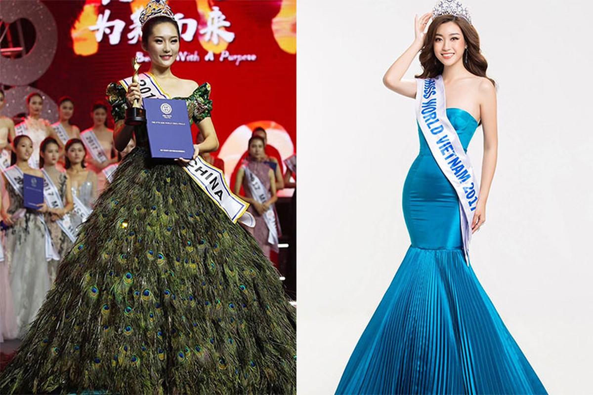 Do My Linh va tan HH The gioi Trung Quoc, ai dep hon?-Hinh-2