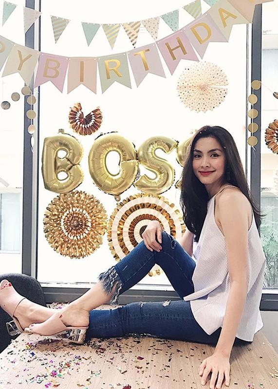 Hot Face sao Viet 24h: Tang Thanh Ha rang ro don sinh nhat tuoi 31