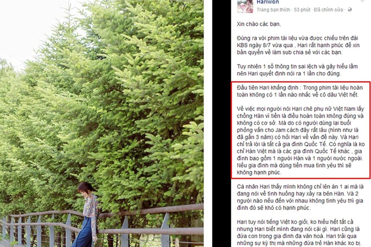 Sau ket hon voi Tran Thanh, Hari Won lien tuc vuong scandal-Hinh-11